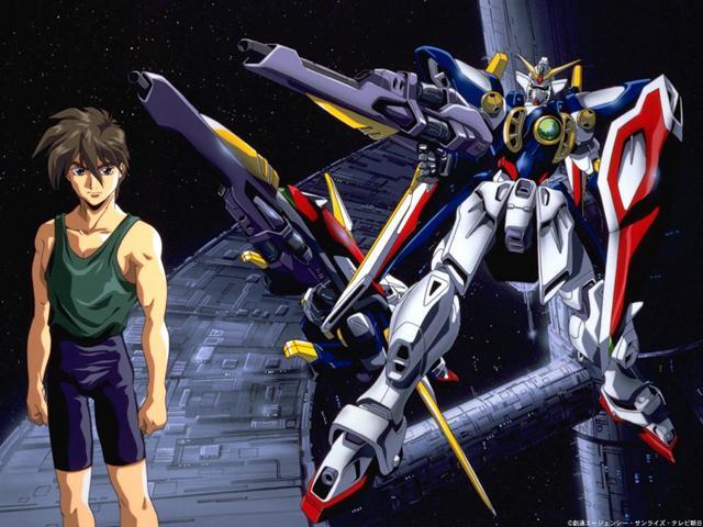 Heero and his Gundam