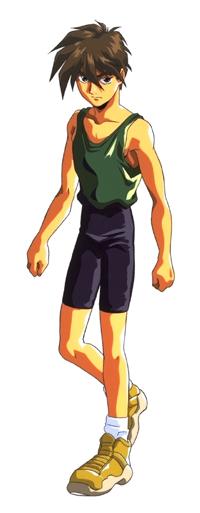 Heero in his normal clothes