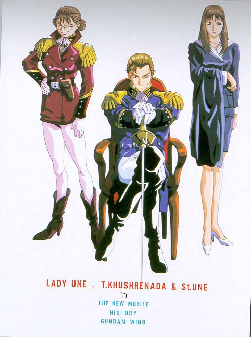 Treize and Lady Une