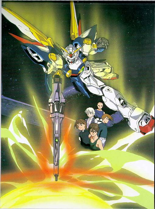 Gundam Pilots and WING zero shooting