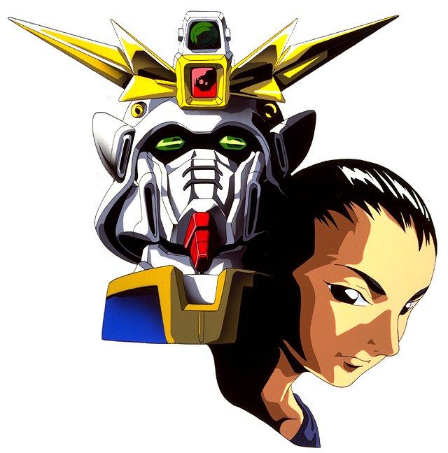 Wufei with his gundam