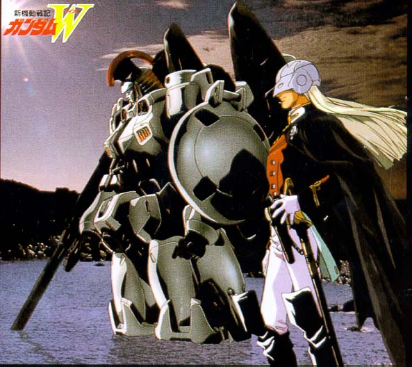 Another pic with Zechs and Tallgeese